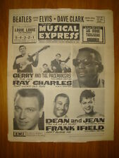 NME #888 1964 JAN 17 BEATLES GERRY PACEMAKERS ELVIS