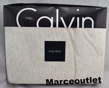 Calvin Klein Home Modern Cotton Body Jersey KING Duvet Cover Oatmeal