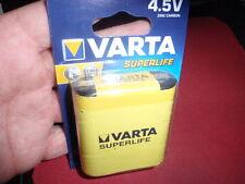 4,5V FLACHBATTERIE VARTA 3R12 60x63x20mm ZINK-CARBON  2 STÜCK!   12523