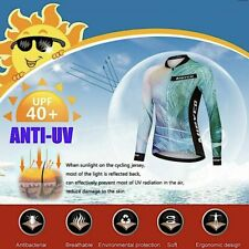 Women Cycling Jersey Tops Mtb Wear Long Sleeve Riding Clothing Bicycle Clothes