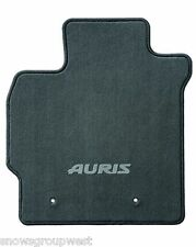 Genuine Toyota Auris Car Floor Carpet Mat Drivers Only 2012 Onwards Anthracite