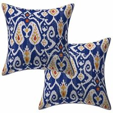 "Decorative Kantha Pillow Case Cover Indian Decorative Cushion Cover 2pcs 16"""