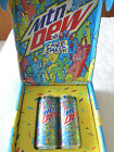 Mt Mountain Dew Cake Smash 2 Cans Rare Limited Edition