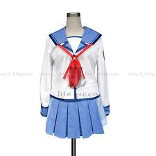Angel Beats! Yurippe Yuri Uniform Cos Clothing Cosplay Costume