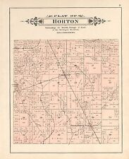 Ogemaw County Michigan 1903 Atlas plat maps history roads P113