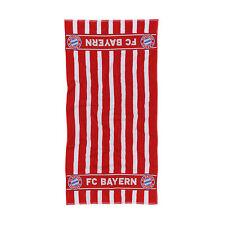 FC Bayern München Handtuch rot/weiß Gr. 50 x 100 cm  NEU !