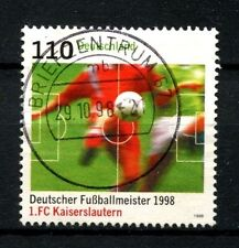 Germany 1998 SG#2866 FC Kaiserslautern Football Used #A25244