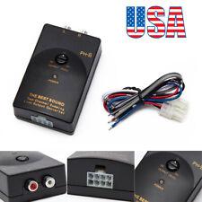 Car Audio Rca jack Line-Out Converter 1A 20Hz-20kHz Speaker to Rca Line Max 50W