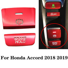 Fit For Honda Accord 2018-19 Gear Accessories P Gear BRAKE HOLD Frame Trim Red
