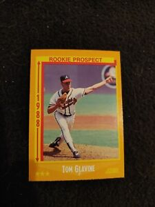 1988 Score Tom glavine rookie baseball card #638 Atlanta Braves mint