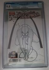 CGC Wizard World Atlanta Marvel Comic Amazing Spider-Man #1 9.8 Black & White LE