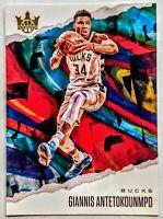 Giannis Antentokounmpo 2019-20 Panini Court Kings Base Card #53 HOT🔥