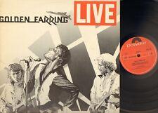 GOLDEN EARRING LIVE foc 2 LP Gatefold 1977 1st First Print EELCO GELLING