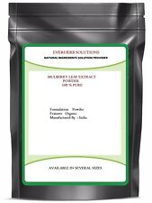 Mulberry Leaf Extract Powder ( 100 % Pure )  And Natural Free Fast Shipping
