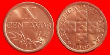 10 CENTS 1968 UNCIRCULATED GB PORTUGAL-0134SC
