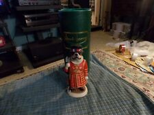 Robert Harrop Bull Dog Beefeater Queen Of England Guard Figurine #CC66 W/ Box VG