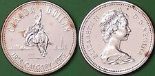 1975 Canada Silver Founding of Calgary Dollar Graded as Specimen