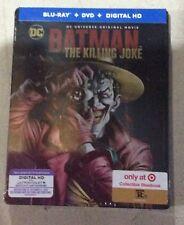 New & Sealed Target Exclusive Batman The Killing Joke Steelbook Blu-ray DVD