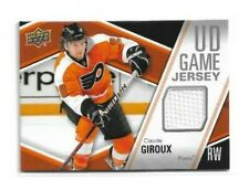 2011-12 UPPER DECK GAME JERSEYS #GJCG CLAUDE GIROUX UD FLYERS
