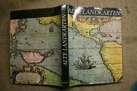 Sammlerbuch alte Landkarten, Karteographie, Globus, Weltkarte, Antike bis 19. Jh