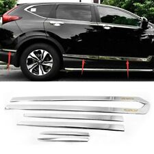 For Honda Cr-V 2017-2020 Stainless Steel Body Chrome Side Door Molding Trim (Fits: Honda)