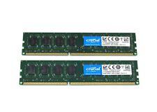 New listing Crucial 16Gb 2x 8Gb Pc3-12800 Pc3L 1.35V Non-Ecc Desktop Memory Ct102464Bd160B