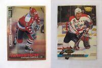 1995-96 Collector's Choice #183 Khristich Dmitri PLATINUM player's club  capital