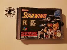 Starwing - super nintendo - UKV - boite vide