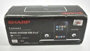 Sharp i-Elegance Music System for iPod Dock Speak Sub DK-AP7N(W) 2.1 Stereo