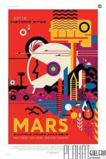 Vision of the Future NASA 14 Awesome Space Tourism Travel Posters