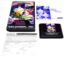 ARIEL THE LITTLE MERMAID OZISOFT SEGA MEGA DRIVE PAL GAME RARE SUIT COLLECTOR FP