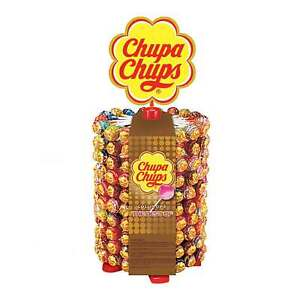 Chupa Chups The Best Of Lutscher Lolly Lollipop 200er Dose fruchtig + sahnig