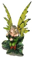 91148, Fairy Green Pixie Desk Decoration Figurine by Backwoods Lighting LLC