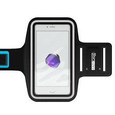 Universal Sport Armband Handy Armtasche Joggen Fitness Band Smartphone Schwarz