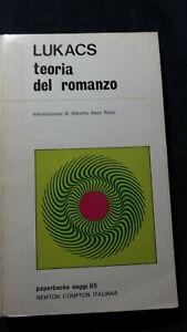 Lukacs: Teoria del romanzo Newton Compton 1972
