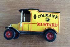 Matchbox Models Yesteryear Y-12 1913 Ford Model T Coleman's Mustard Truck 1:35