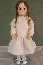 "22"" Antique Bisque Doll Karl Hartman Nice Shape Ball Jointed Body"