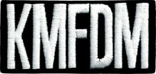 9420 KMFDM German Rock Band Industrial Electronic Political Music Iron On Patch