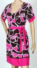 NWT MAX & CLEO SCOOP NECK PRINTED JERSEY DRESS 4
