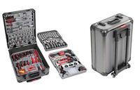 Maletin maleta herramientas 187 piezas llave plana con carraca de vaso etc......