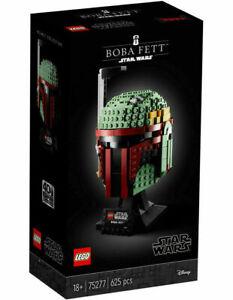 BRAND NEW LEGO Star Wars 75277 Boba Fett Helmet Brand New Sealed in Box