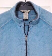 L L Bean Women's Vest Large Fleece Blue OAMB1