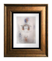 """Paul KLEE Lithograph Color LIMITED Ed. """"Singer of the Comic Opera"""" w/Frame"""