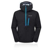 Abrigos y chaquetas de hombre negro sintético