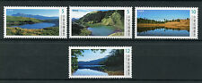 Taiwan China 2017 MNH Alpine Lakes 4v Set Mountains Tourism Landscapes Stamps