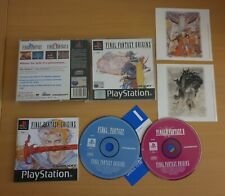 FINAL FANTASY ORIGINS. PS1 Game. COLLECTIBLE (PlayStation 1, PAL) With manual.