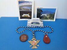 ANDALUSIA KEY RING,MARBELLA BRIDGE+P/CARDS, MALAGA MEDALLION, ALHAURIN EL GRANDE