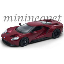 WELLY 24082 2017 FORD GT 1/24 DIECAST MODEL CAR BROWN RED