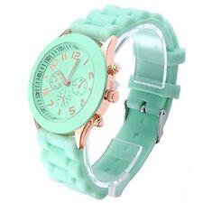 OFTEN® Popular Silicone Quartz Men Women Girl Boy Unisex Jelly Wrist Watch Cheap