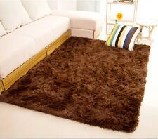 80X120CM Shaggy Area Rug Dining Room Carpet Fluffy Easy Life Global Popular Gift